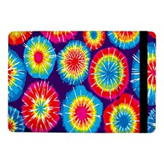 Tie Dye Circle Round Color Rainbow Red Purple Yellow Blue Pink Orange Samsung Galaxy Tab Pro 10 1  Flip Case by Alisyart