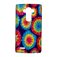 Tie Dye Circle Round Color Rainbow Red Purple Yellow Blue Pink Orange Lg G4 Hardshell Case by Alisyart