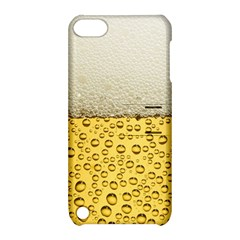 Water Bubbel Foam Yellow White Drink Apple Ipod Touch 5 Hardshell Case With Stand by Alisyart