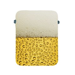Water Bubbel Foam Yellow White Drink Apple Ipad 2/3/4 Protective Soft Cases by Alisyart