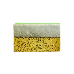 Water Bubbel Foam Yellow White Drink Cosmetic Bag (xs) by Alisyart