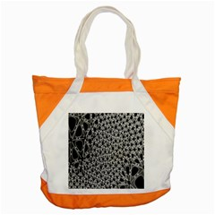 X Ray Rendering Hinges Structure Kinematics Circle Star Black Grey Accent Tote Bag by Alisyart