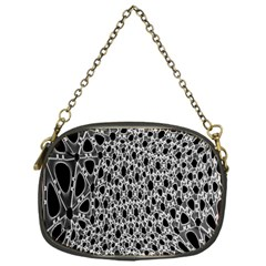 X Ray Rendering Hinges Structure Kinematics Circle Star Black Grey Chain Purses (one Side)  by Alisyart