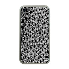 X Ray Rendering Hinges Structure Kinematics Circle Star Black Grey Apple Iphone 4 Case (clear) by Alisyart