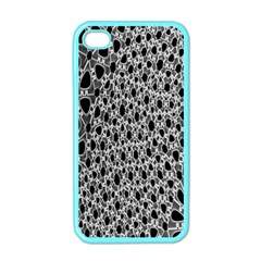 X Ray Rendering Hinges Structure Kinematics Circle Star Black Grey Apple Iphone 4 Case (color) by Alisyart