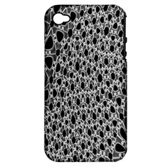 X Ray Rendering Hinges Structure Kinematics Circle Star Black Grey Apple Iphone 4/4s Hardshell Case (pc+silicone) by Alisyart
