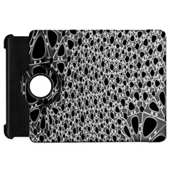 X Ray Rendering Hinges Structure Kinematics Circle Star Black Grey Kindle Fire Hd 7  by Alisyart