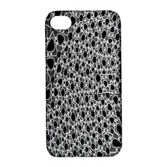 X Ray Rendering Hinges Structure Kinematics Circle Star Black Grey Apple Iphone 4/4s Hardshell Case With Stand by Alisyart
