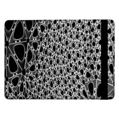 X Ray Rendering Hinges Structure Kinematics Circle Star Black Grey Samsung Galaxy Tab Pro 12 2  Flip Case by Alisyart