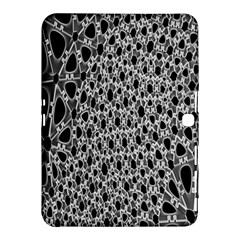 X Ray Rendering Hinges Structure Kinematics Circle Star Black Grey Samsung Galaxy Tab 4 (10 1 ) Hardshell Case  by Alisyart