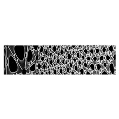 X Ray Rendering Hinges Structure Kinematics Circle Star Black Grey Satin Scarf (oblong) by Alisyart