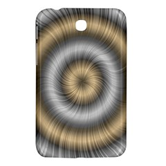 Prismatic Waves Gold Silver Samsung Galaxy Tab 3 (7 ) P3200 Hardshell Case  by Alisyart