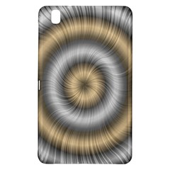 Prismatic Waves Gold Silver Samsung Galaxy Tab Pro 8 4 Hardshell Case by Alisyart