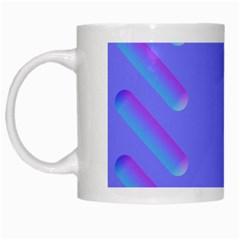Leftroom Normal Purple White Mugs by Alisyart