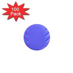 Leftroom Normal Purple 1  Mini Magnets (100 Pack)  by Alisyart