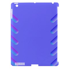 Leftroom Normal Purple Apple Ipad 3/4 Hardshell Case (compatible With Smart Cover) by Alisyart