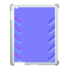 Leftroom Normal Purple Apple Ipad 3/4 Case (white) by Alisyart