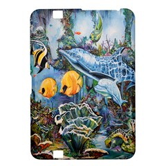 Colorful Aquatic Life Wall Mural Kindle Fire Hd 8 9  by Simbadda