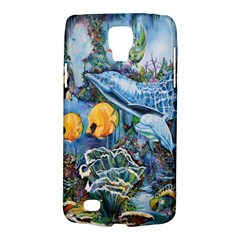 Colorful Aquatic Life Wall Mural Galaxy S4 Active by Simbadda
