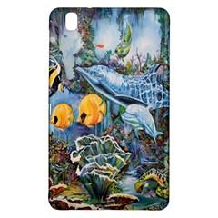 Colorful Aquatic Life Wall Mural Samsung Galaxy Tab Pro 8 4 Hardshell Case by Simbadda