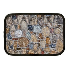 Multi Color Stones Wall Texture Netbook Case (medium)  by Simbadda