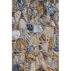 Multi Color Stones Wall Texture 5 5  X 8 5  Notebooks by Simbadda
