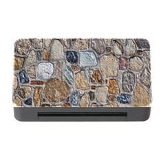 Multi Color Stones Wall Texture Memory Card Reader With Cf by Simbadda