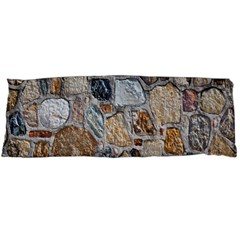 Multi Color Stones Wall Texture Body Pillow Case (Dakimakura)