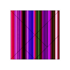 Fun Striped Background Design Pattern Acrylic Tangram Puzzle (4  X 4 ) by Simbadda