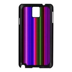 Fun Striped Background Design Pattern Samsung Galaxy Note 3 N9005 Case (black) by Simbadda