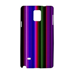 Fun Striped Background Design Pattern Samsung Galaxy Note 4 Hardshell Case by Simbadda