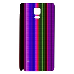 Fun Striped Background Design Pattern Galaxy Note 4 Back Case by Simbadda