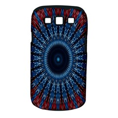 Digital Circle Ornament Computer Graphic Samsung Galaxy S Iii Classic Hardshell Case (pc+silicone) by Simbadda