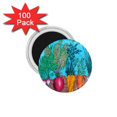 Mural Displaying Array Of Garden Vegetables 1 75  Magnets (100 Pack)  by Simbadda