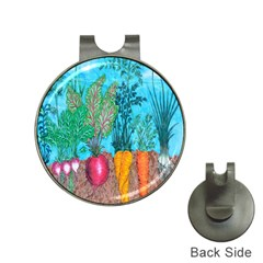 Mural Displaying Array Of Garden Vegetables Hat Clips With Golf Markers by Simbadda