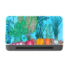 Mural Displaying Array Of Garden Vegetables Memory Card Reader With Cf by Simbadda