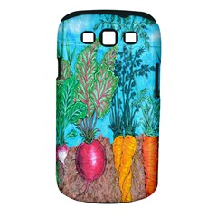 Mural Displaying Array Of Garden Vegetables Samsung Galaxy S Iii Classic Hardshell Case (pc+silicone) by Simbadda