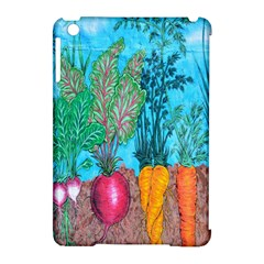 Mural Displaying Array Of Garden Vegetables Apple Ipad Mini Hardshell Case (compatible With Smart Cover) by Simbadda
