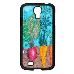 Mural Displaying Array Of Garden Vegetables Samsung Galaxy S4 I9500/ I9505 Case (black) by Simbadda