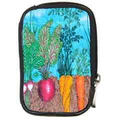 Mural Displaying Array Of Garden Vegetables Compact Camera Cases by Simbadda