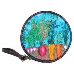Mural Displaying Array Of Garden Vegetables Classic 20 Cd Wallets by Simbadda