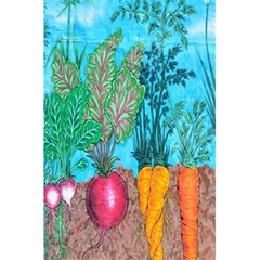 Mural Displaying Array Of Garden Vegetables 5 5  X 8 5  Notebooks by Simbadda