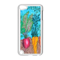 Mural Displaying Array Of Garden Vegetables Apple Ipod Touch 5 Case (white) by Simbadda