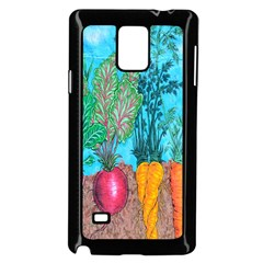 Mural Displaying Array Of Garden Vegetables Samsung Galaxy Note 4 Case (black) by Simbadda