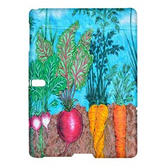 Mural Displaying Array Of Garden Vegetables Samsung Galaxy Tab S (10 5 ) Hardshell Case  by Simbadda