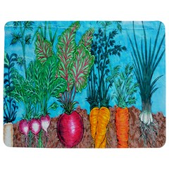 Mural Displaying Array Of Garden Vegetables Jigsaw Puzzle Photo Stand (rectangular) by Simbadda