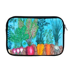 Mural Displaying Array Of Garden Vegetables Apple Macbook Pro 17  Zipper Case by Simbadda