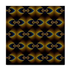 Fractal Multicolored Background Tile Coasters by Simbadda