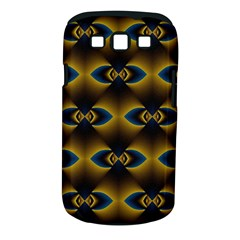 Fractal Multicolored Background Samsung Galaxy S Iii Classic Hardshell Case (pc+silicone) by Simbadda