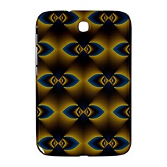 Fractal Multicolored Background Samsung Galaxy Note 8 0 N5100 Hardshell Case  by Simbadda